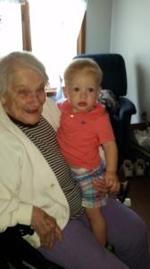 Grandma's First Great-Grandchild