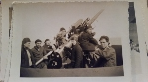 Grandpa On a Navy Vessel (pictured bottom right)