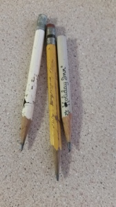 The Beloved Stubby Pencils